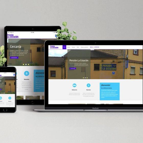etcDigital | Diseño y Desarrollo Web Pensión La Estación