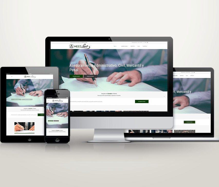 etcDigital | Diseño y Desarrollo Web Weedlaw