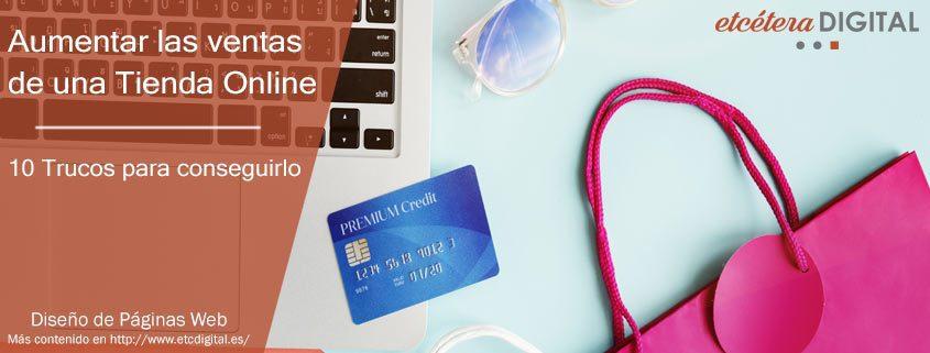 Aumentar las ventas de una Tienda Online