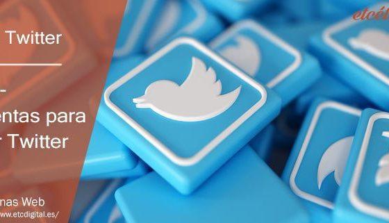 TOP 10 Herramientas para gestionar Twitter