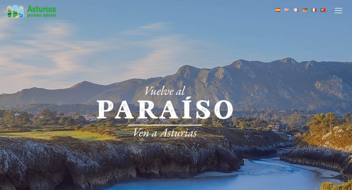 Web de Turismo Asturias