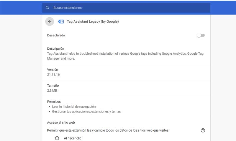 google tag assistant legacy by google