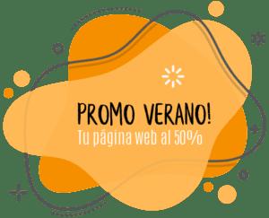 Promo verano pagina web barata