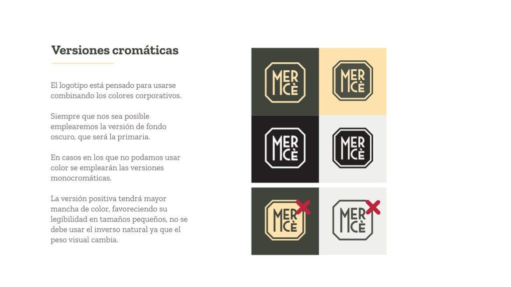 versiones cromaticas merce