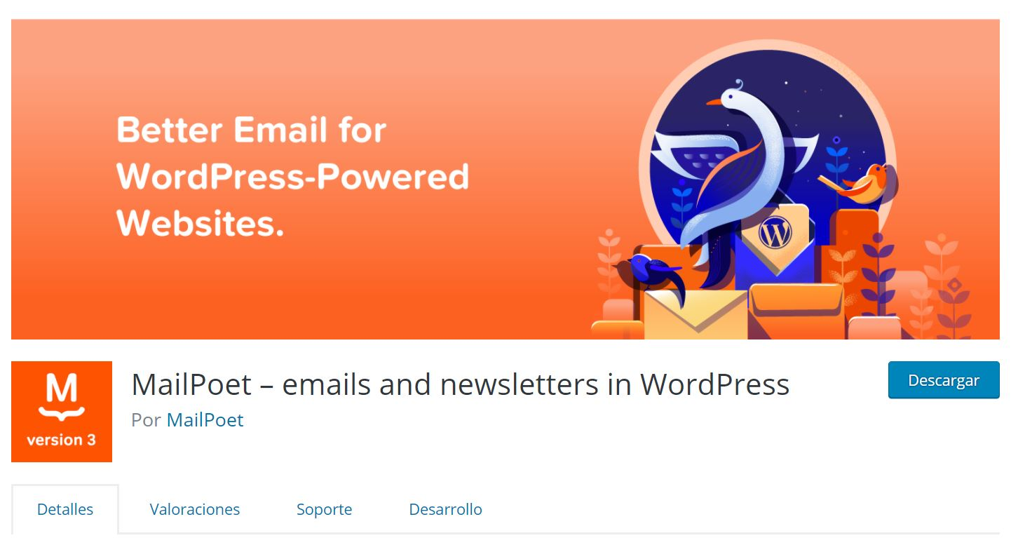 incrementa el trafico de tu blog usando mailpoet
