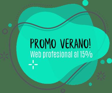 web profesional 15 por ciento de descuento